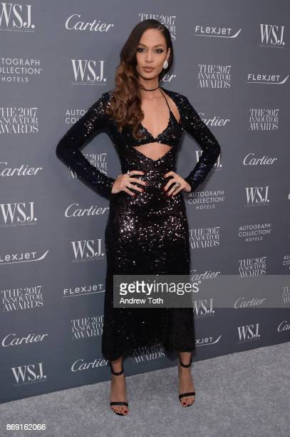 Model Joan Smalls attends the WSJ Magazine 2017 Innovator Awards at MOMA on November 1 2017 in New York City