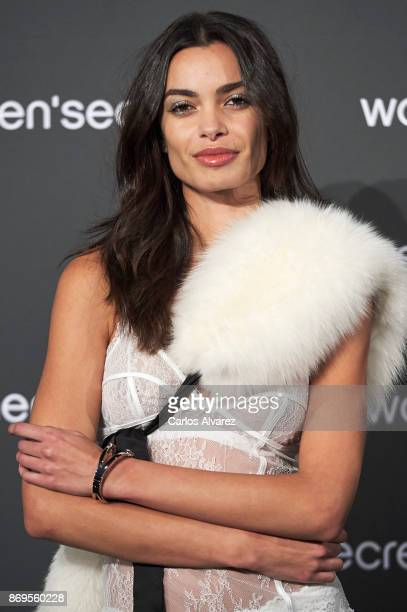 Model Joana Sanz attends the event Women'Secret Night to present the campaign Wanted on November 2 2017 in Madrid Spain