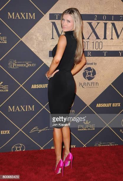 Model Joanna Krupa arrives at The 2017 MAXIM Hot 100 Party at Hollywood Palladium on June 24 2017 in Los Angeles California