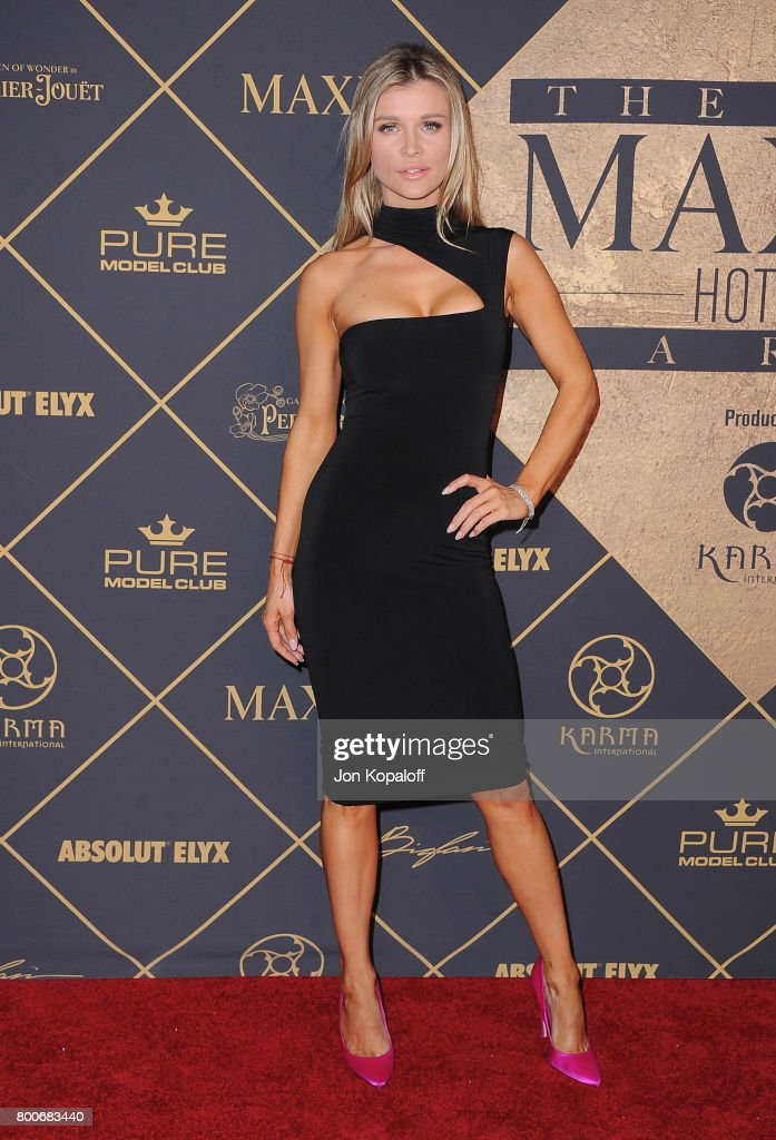 Model Joanna Krupa arrives at The 2017 MAXIM Hot 100 Party at Hollywood Palladium on June 24, 2017 in Los Angeles, California.