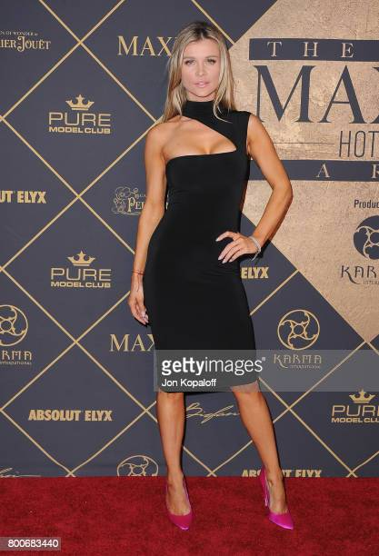 Model Joanna Krupa arrives at The 2017 MAXIM Hot 100 Party at Hollywood Palladium on June 24 2017 in Los Angeles California