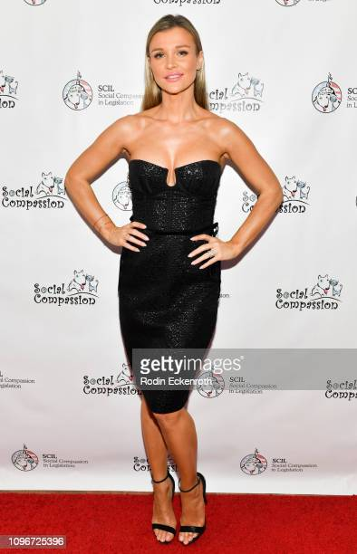 Model Joanna Krupa attends the Social Compassion in Legislation Hosts Sunset On Sunset Event Honoring AnimalRights Pioneers at Andaz West Hollywood...