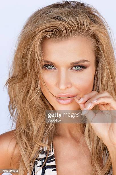 Model Joanna Krupa is photographed for Michigan Avenue Magazine in 2010 PUBLISHED IMAGE