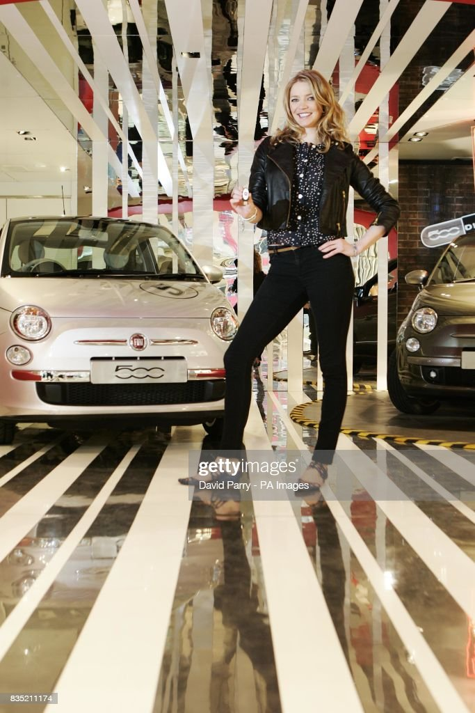 Jodie Kidd Takes An Eco Testdrive Pictures Getty Images - Fiat dealers in london