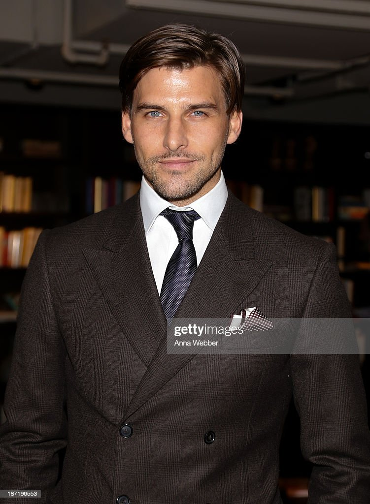 Model Johannes Huebl attends Ferragamo And Stefano Tonchi Present A VIP Screening Of Premier Film Walking Stories on November 6, 2013 in New York City.