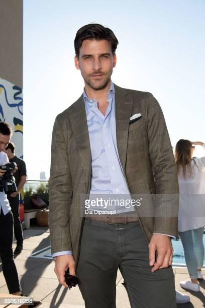 Model Johannes Huebl attends the Daily Front Row Summer Premiere Party at Jimmy At The James Hotel on June 7 2017 in New York City