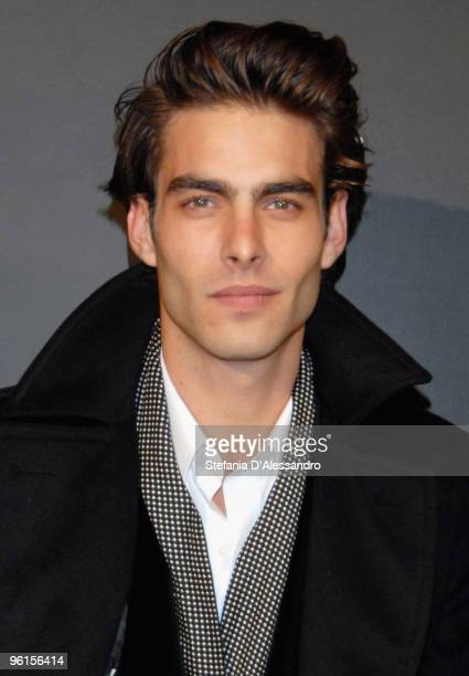 Model Jon Kortajarena attends A Single Man premiere on January 11 2010 in Milan Italy