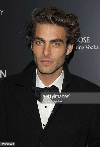 Model Jon Kortajarena attends a special screening of A Single Man hosted by The Cinema Society and Bing at MOMA on December 6 2009 in New York City