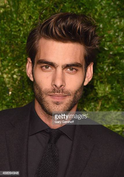 Model Jon Kortajarena attends The 11th Annual CFDA/Vogue Fashion Fund Awards at Spring Studios on November 3 2014 in New York City