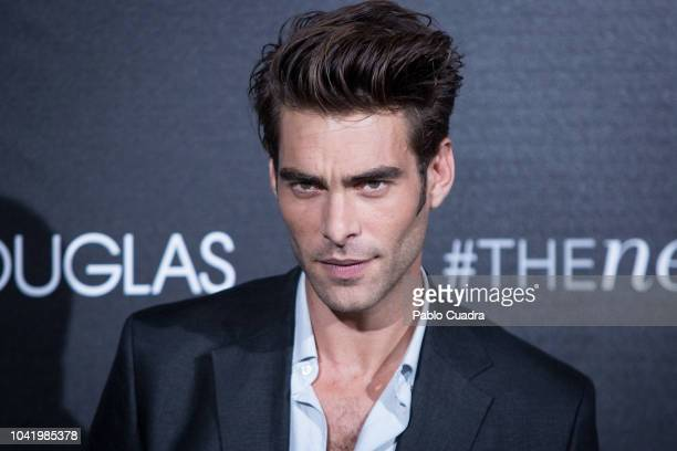 Model Jon Kortajarena attends 'The New Douglas' photocall at VP Hotel on September 27 2018 in Madrid Spain