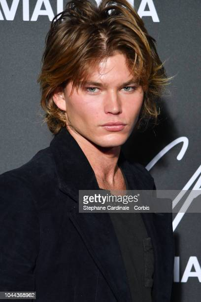 6724aa6c Model Jordan Barrett attends the CR Fashion Book x Luisaviaroma Photocall  as part of the Paris. Editorial use only