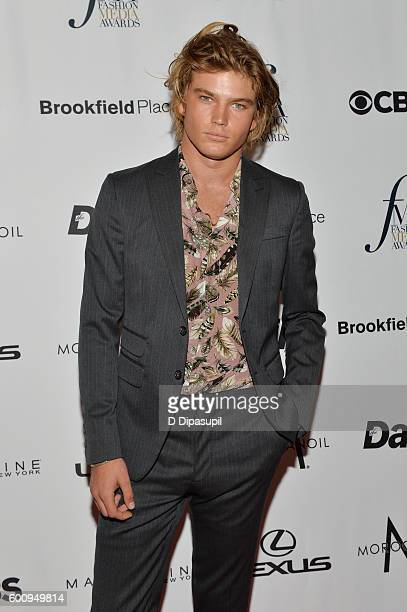 e8e6cafc Model Jordan Barrett attends the The Daily Front Row's 4th Annual Fashion  Media Awards at Park. Editorial use only