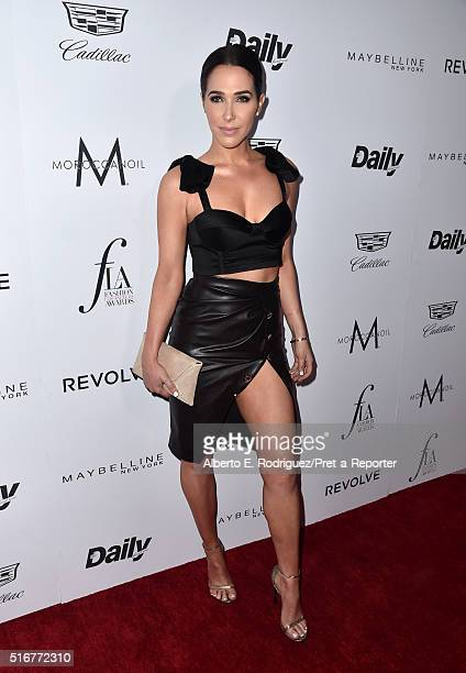 Model Jordan Duffy attends the Daily Front Row Fashion Los Angeles Awards at Sunset Tower Hotel on March 20 2016 in West Hollywood California