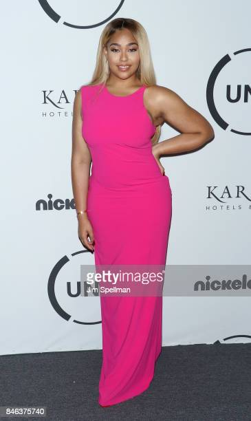 Model Jordyn Woods attends the 2017 Unitas Gala at Capitale on September 12 2017 in New York City