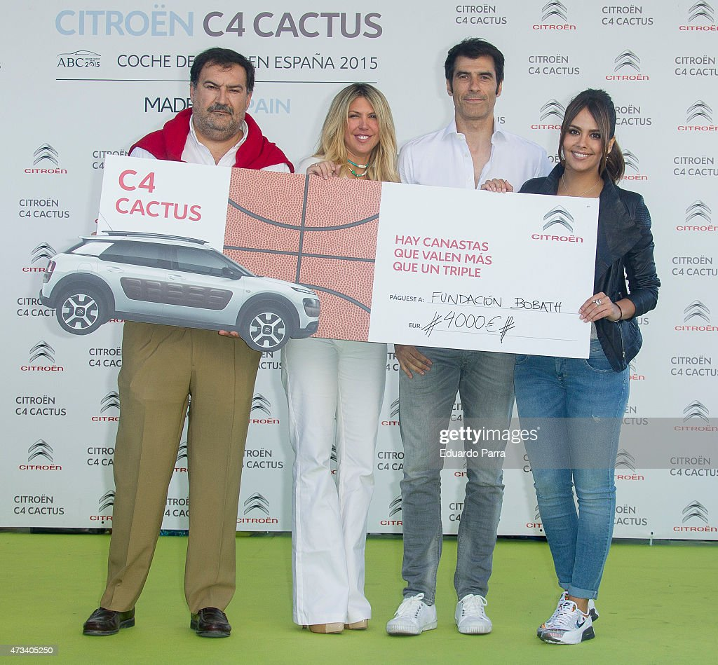 Celebrities Attend 'Charity Basket' Event in Madrid