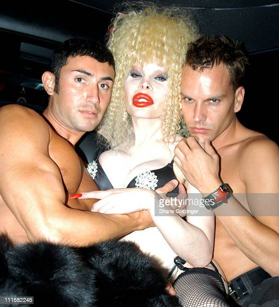 Model Joseph Israel Amanda Lepore and Model Jeremy White **EXCLUSIVE**