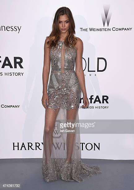Model Josephine Skriver attends amfAR's 22nd Cinema Against AIDS Gala Presented By Bold Films And Harry Winston at Hotel du CapEdenRoc on May 21 2015...