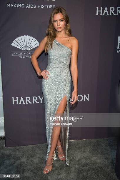 Model Josephine Skriver attends the 19th Annual amfAR New York Gala at Cipriani Wall Street on February 8 2017 in New York City