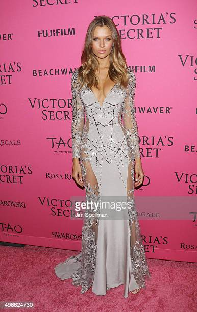 Model Josephine Skriver attends the 2015 Victoria's Secret Fashion Show after party at TAO Downtown on November 10 2015 in New York City
