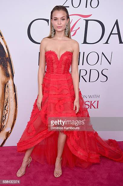 Model Josephine Skriver attends the 2016 CFDA Fashion Awards at the Hammerstein Ballroom on June 6 2016 in New York City