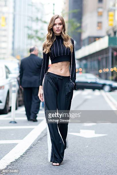 Model Josephine Skriver attends the 2016 Victoria's Secret Fashion Show model fittings on November 1 2016 in New York City