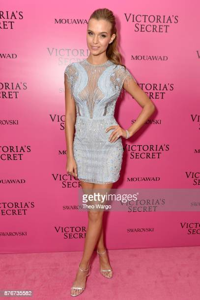 Model Josephine Skriver attends the 2017 Victoria's Secret Fashion Show In Shanghai After Party at MercedesBenz Arena on November 20 2017 in Shanghai...
