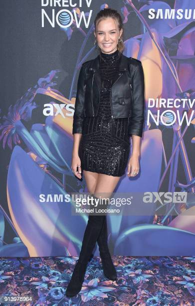 Model Josephine Skriver attends the 2018 DIRECTV NOW Super Saturday Night Concert at NOMADIC LIVE at The Armory on February 3 2018 in Minneapolis...
