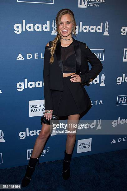 Model Josephine Skriver attends the 27th Annual GLAAD Media Awards at The Waldorf=Astoria on May 14 2016 in New York City