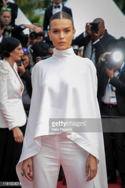 "Model Josephine Skriver attends the screening of ""Oh Mercy! "" during the 72nd annual Cannes Film Festival on May 22, 2019 in Cannes, France."