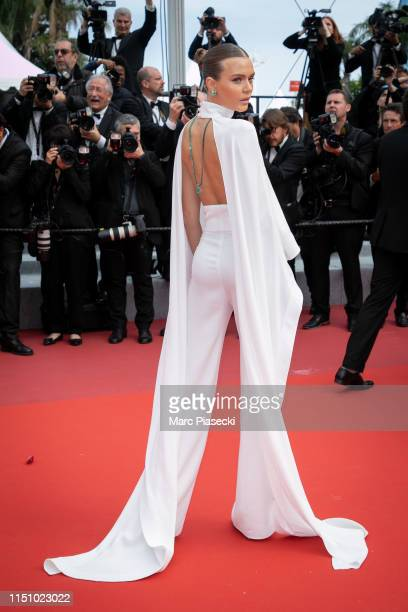 Model Josephine Skriver attends the screening of Oh Mercy during the 72nd annual Cannes Film Festival on May 22 2019 in Cannes France