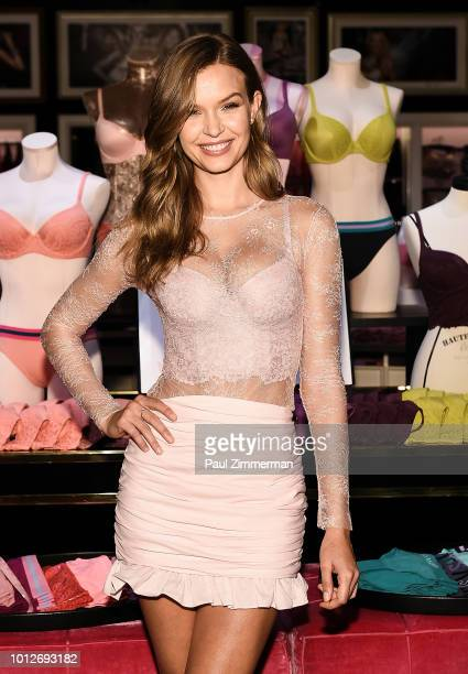 Model Josephine Skriver celebrates Victoria's Global Team of Bra Experts and launches the all new Body by Victoria Collection at Victoria's Secret...