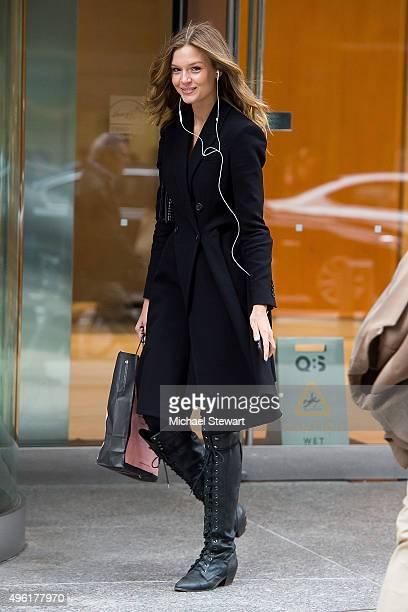 Model Josephine Skriver is seen in Midtown on November 7 2015 in New York City