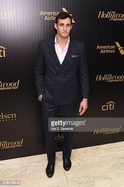 Model Josh Truesdell attends the Hollywood Reporter's 2016 35 Most Powerful People in Media at Four Seasons Restaurant on April 6 2016 in New York...