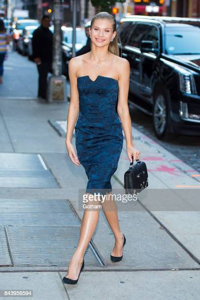 Model Josie Canseco is seen SoHo on September 7 2017 in New York City