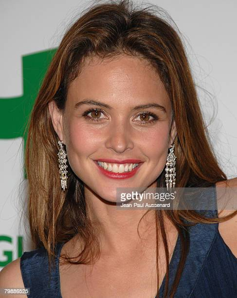 Model Josie Maran arrives at Global Green USA 5th preOscar Party held at Avalon on February 20 2008 in Hollywood California