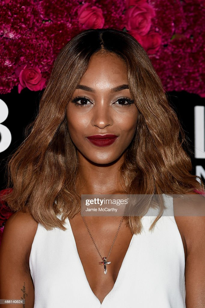 Model Jourdan Dunn attends Maybelline New York Celebrates New York Fashion Week at Sixty Five on September 13, 2015 in New York City.