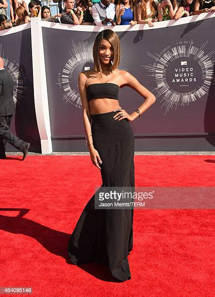 Model Jourdan Dunn attends the 2014 MTV Video Music Awards at The Forum on August 24 2014 in Inglewood California