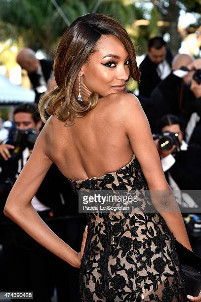 Model Jourdan Dunn attends the Little Prince Premiere during the 68th annual Cannes Film Festival on May 22 2015 in Cannes France