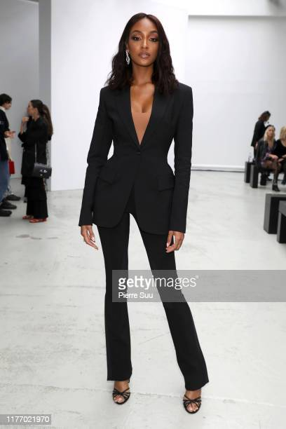 Model Jourdan Dunn attends the Mugler Womenswear Spring/Summer 2020 show as part of Paris Fashion Week on September 25 2019 in Paris France