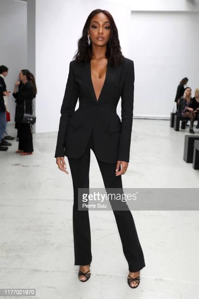Model Jourdan Dunn attends the Mugler Womenswear Spring/Summer 2020 show as part of Paris Fashion Week on September 25, 2019 in Paris, France.