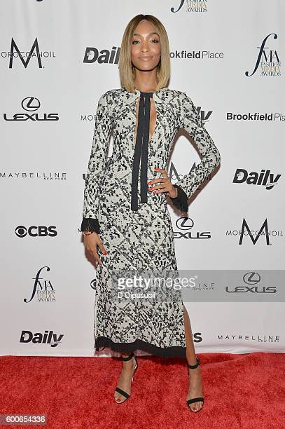 Model Jourdan Dunn attends the The Daily Front Row's 4th Annual Fashion Media Awards at Park Hyatt New York on September 8 2016 in New York City