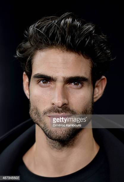 Model Juan Betancourt attends the Alexander Wang X HM Launch on October 16 2014 in New York City