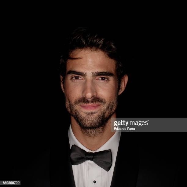 Model Juan Betancourt attends the 'Wanted' By Women'Secret' campaign at La Riviera disco on November 2 2017 in Madrid Spain