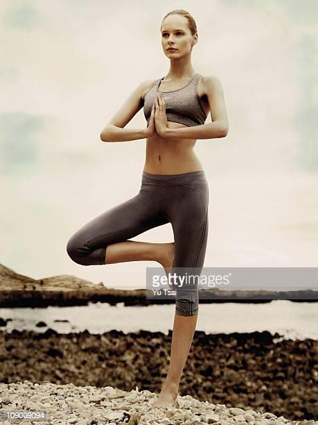 Model Jules Mordovets poses for a beauty portrait session in Los Angeles for Harper's Bazaar UK PUBLISHED IMAGE