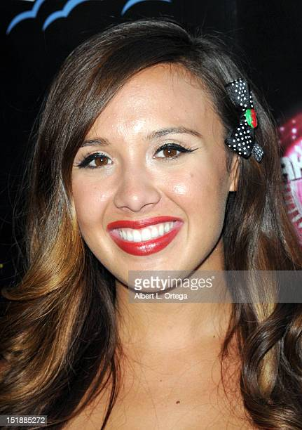 Model Julia Fong arrives for the Viewing Party For The Flirty 30 Fox's Take Me Out held at El Torito Grill on July 19 2012 in Beverly Hills California