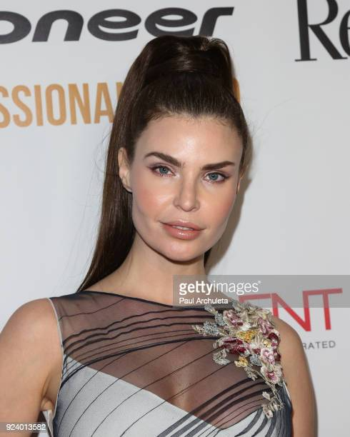 Model Julia Lescova attends the Gifting Your Spectrum gala benefiting Autism Speaks on February 24 2018 in Hollywood California