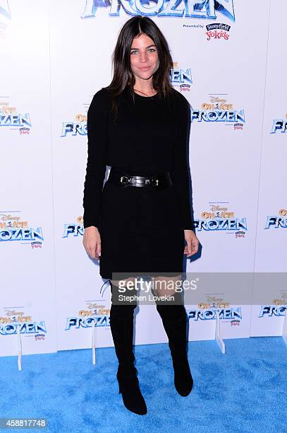 Model Julia Restoin Roitfeld attends Disney On Ice presents Frozen at Barclays Center on November 11 2014 in New York City