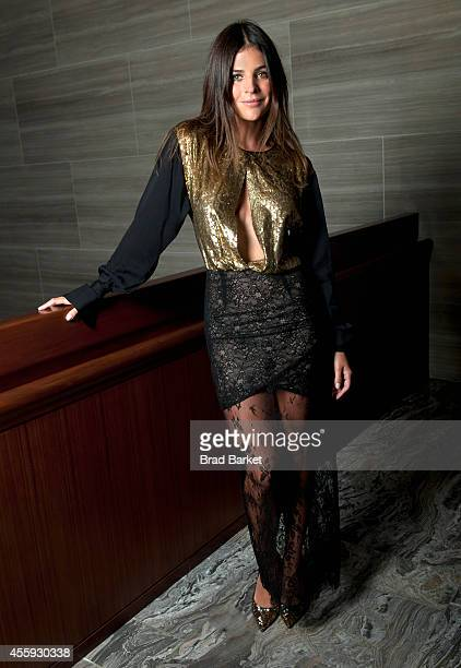 Model Julia Restoin Roitfeld poses for a portrait during The Daily Front Row's second annual Fashion Media Awards at the Park Hyatt on September 5...