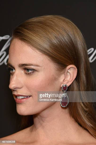 Model Julie Henderson attends Angel Ball 2014 hosted by Gabrielle's Angel Foundation at Cipriani Wall Street on October 20 2014 in New York City