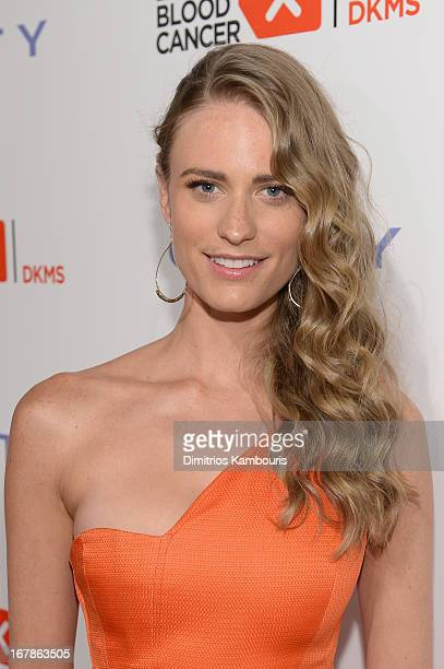 c9c31a790a Model Julie Henderson attends the 2013 Delete Blood Cancer Gala honoring  Vera Wang Leighton Meester and
